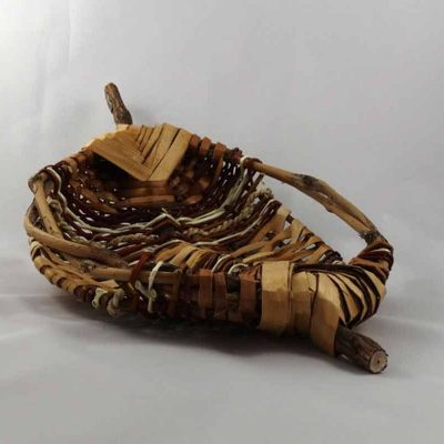Flat basket by Sandi