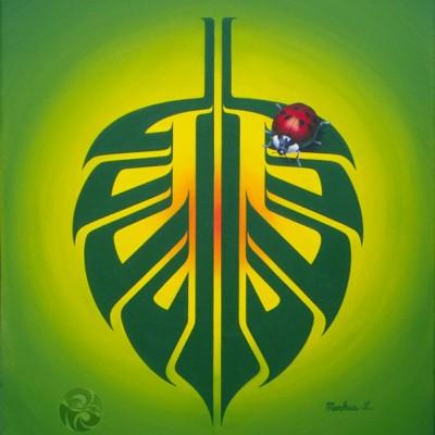 Green Peace Leaf