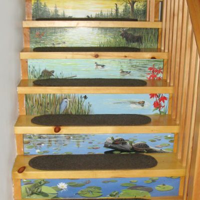Sun Risers - Acrylic Stair Risers (commission)
