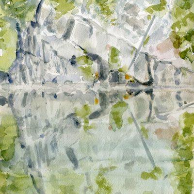 Cat Lake Reflection
