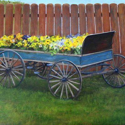 Pansy Wagon