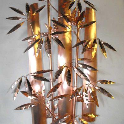 Bamboo Copper Sculpture