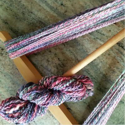 Handspun Yarn Merino Wool & Bamboo