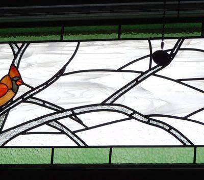 Male Cardinal panel