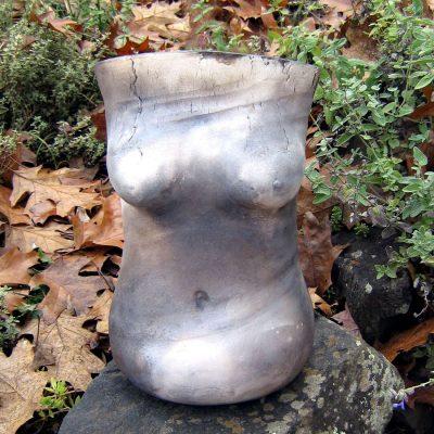 smoke-fired-torso-vase