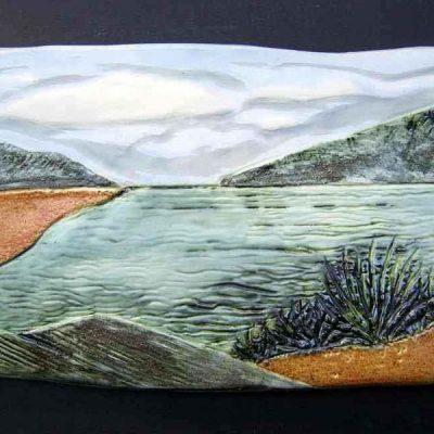 stoneware landscape