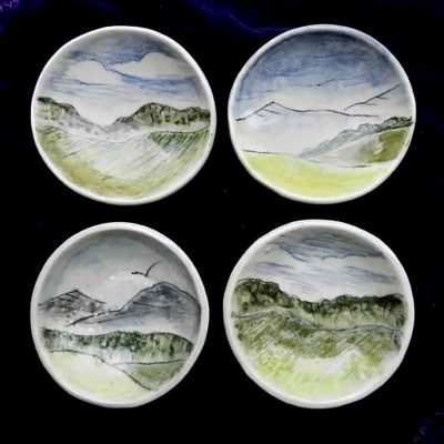 tiny landscape dishes