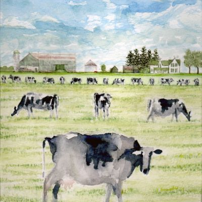 Eighteen Cows