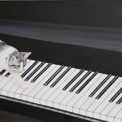 A Kitten on the Keys