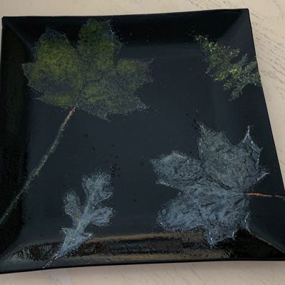 Integrated Leaves Plate