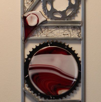Rectangle Bike Wall Art