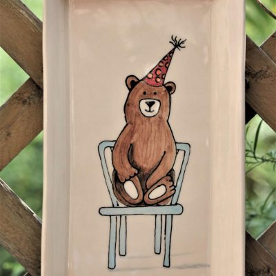 bear on a chair