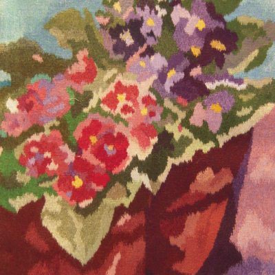 African Violets Tapestry