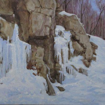 Haliburton Icefall